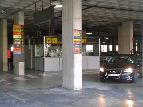 alicante airport parking